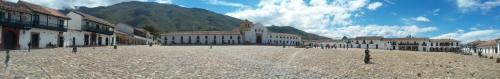Panorama of plaza