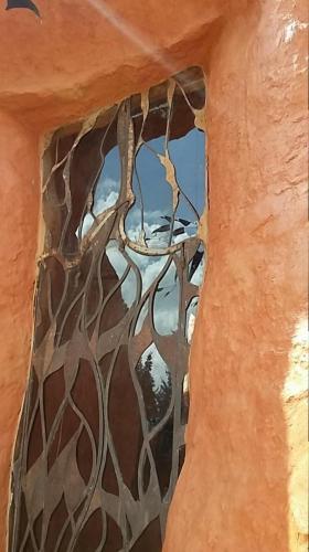 Exterior view Terracotta House window