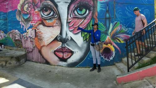 Closeupp of mural