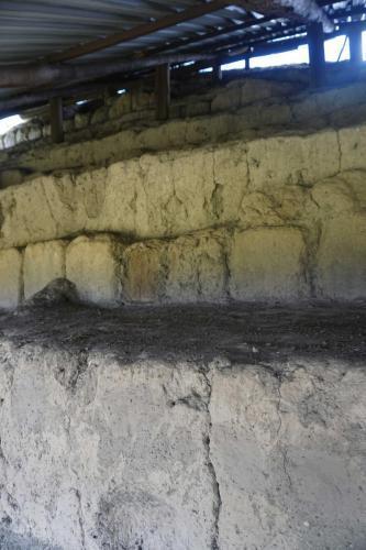 Alternating Layers of Pyramid Construction