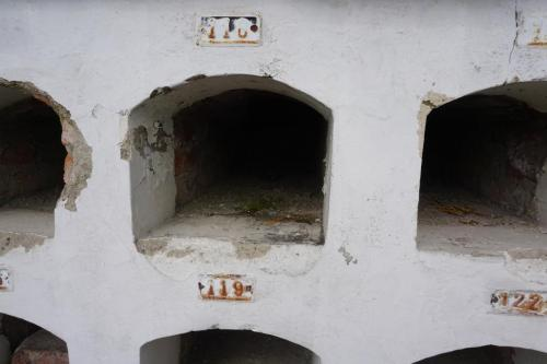 Empty crypt
