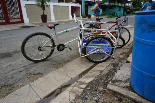 Bike used to transport