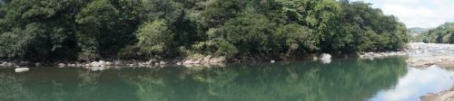 Panorama of river