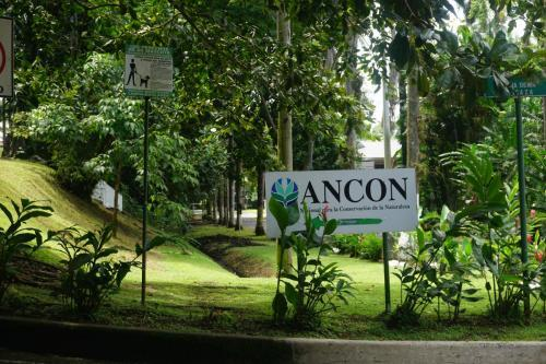 Entrance to Ancon Hill