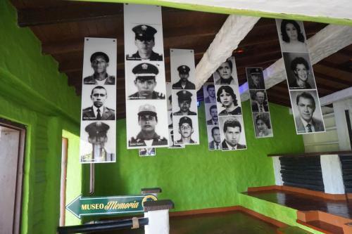 Display in Escobar museum