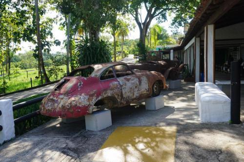 Car in Escobar museum