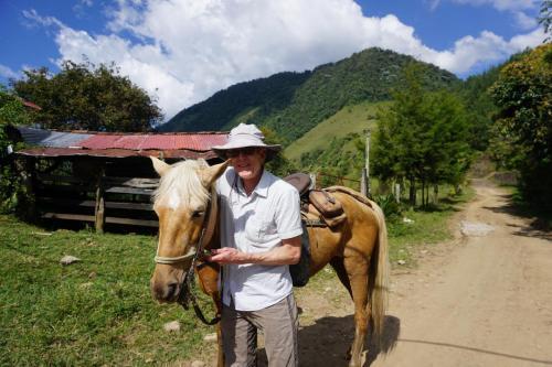 Dan and his horse