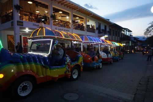 Fun ride around town, about $1 per person