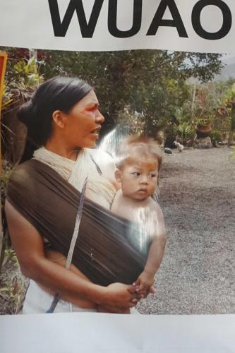 Indigenous mother and baby