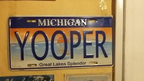 A person from upper peninsula of Michigan