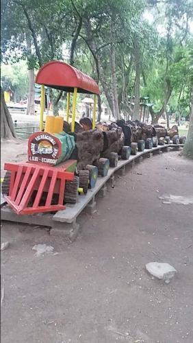 Log look train