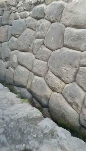 Even a lowly stone wall has rocks shaped to fit without mortar