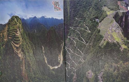 14 switchbacks up to Machu Picchu