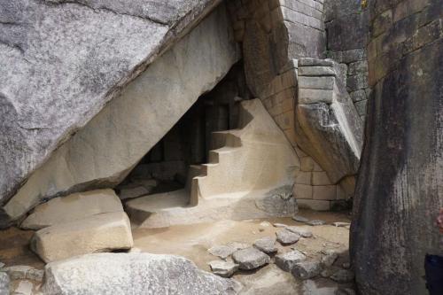 Stonework in temple