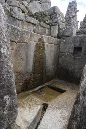Ancient water diversion system