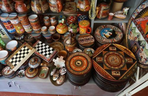Various hand crafted items