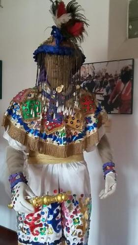 Indigenous woman clothing