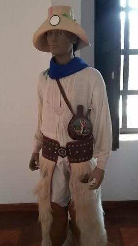 Indigenous man clothing
