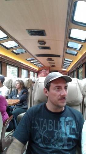 Interior train car