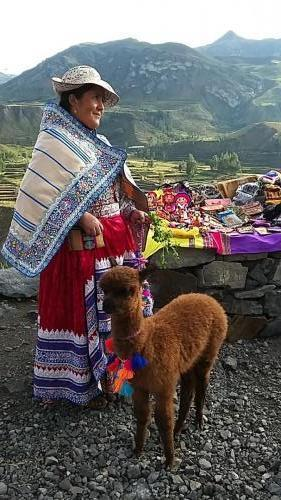 Indigenous lady