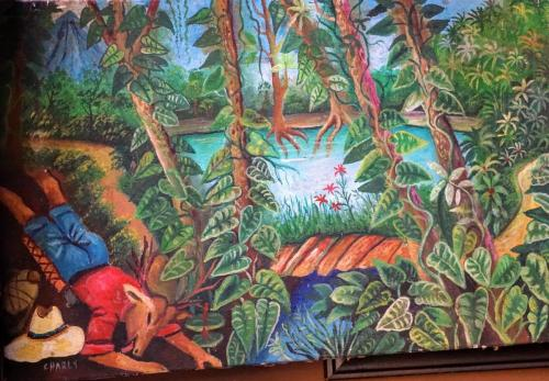 Artwork Charco Verde Restaurant