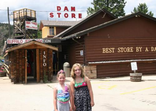 Bre and Rose at the Dam Store, Loveland Colorado