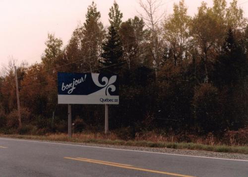 Quebec Sign