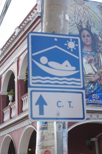 Central Tourism Sign Granada