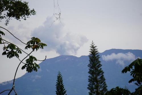 Active volcano Turrialba