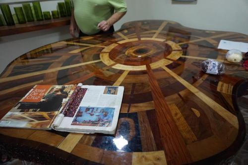 Beautiful hand made table