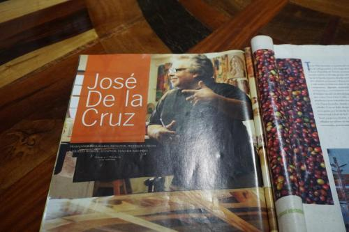 Article about Jose de la Cruz, maker of the table and other wood works