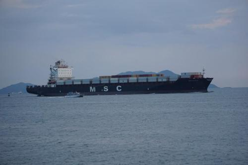 Large ship to go through canal