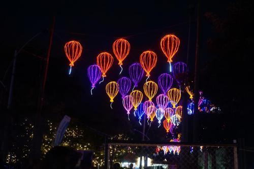 Hot air balloon lights