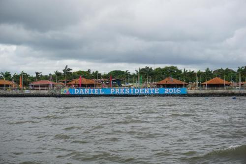 Sign from Ferry, Ometepe to Mainland
