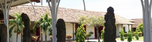 Granada Museum PreColumbian Statues