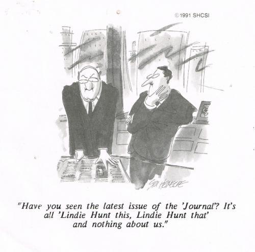 Lindie  Business Cartoon