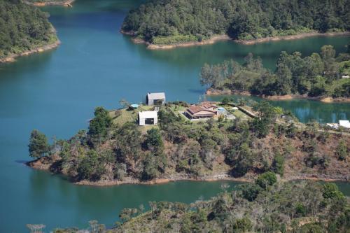 Man made reservoir