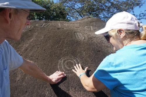 Petroglyphs at Caldera