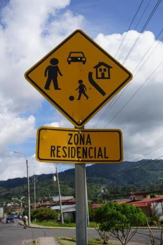 Residential Zone Sign