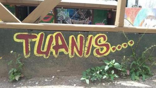 Tuanis means too nice or too cool
