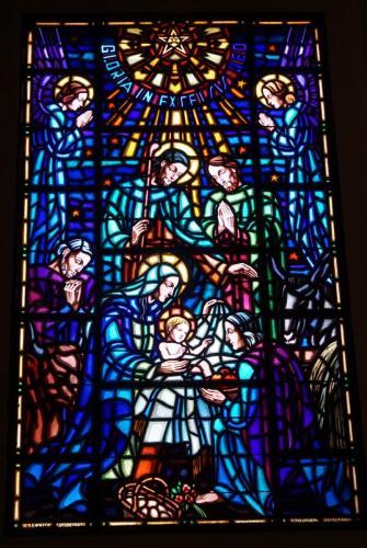 Stained Glass  Window Granada Church