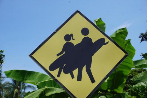 Surfers Sign