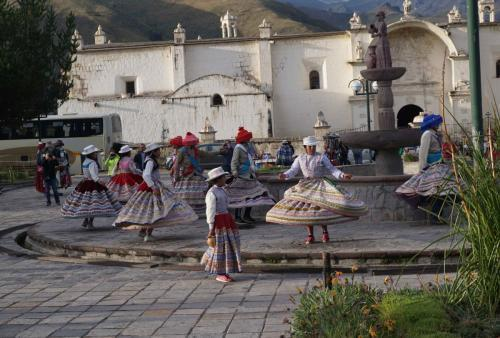Dance for tourists