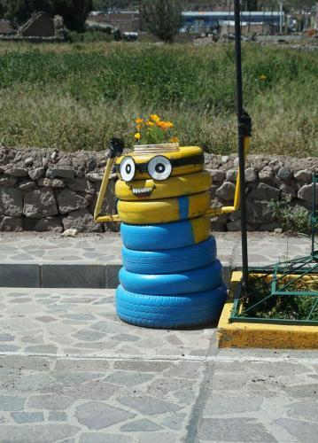 Fun use of tires