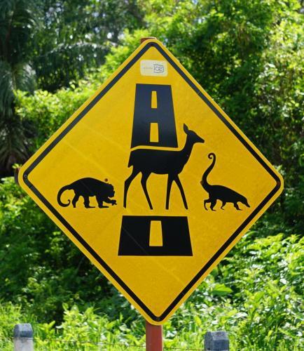 Costa Rica Animal Sign